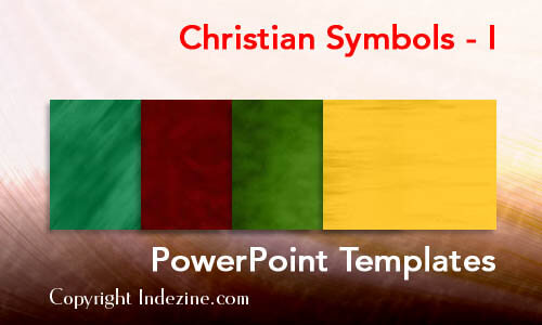 Christian Symbols - I Christian PowerPoint Templates