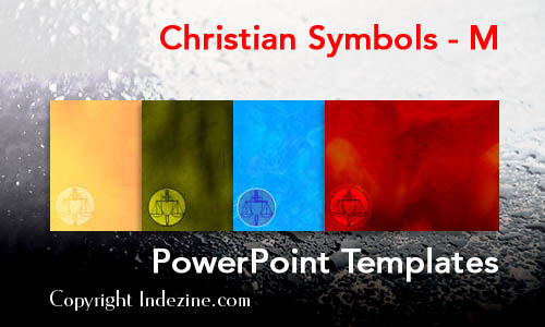 Christian Symbols - M Christian PowerPoint Templates