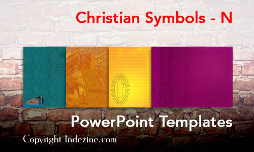 Christian Symbols - N Christian PowerPoint Templates