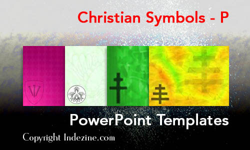 Christian Symbols - P Christian PowerPoint Templates