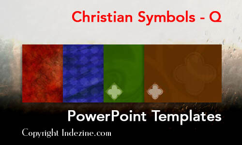 Christian Symbols - Q Christian PowerPoint Templates