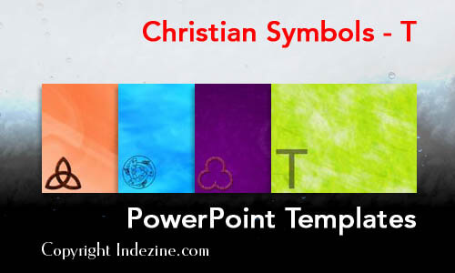 Christian Symbols - T Christian PowerPoint Templates