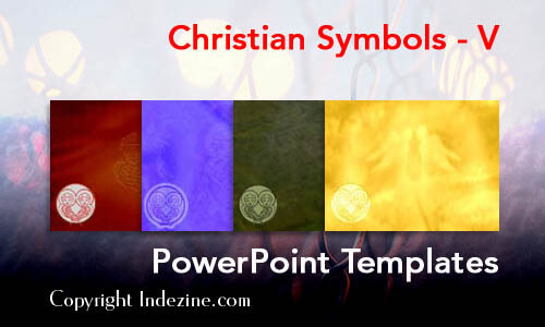 Christian Symbols - V Christian PowerPoint Templates