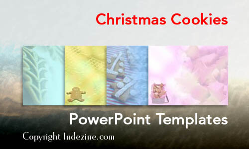 Christmas Cookies PowerPoint Templates