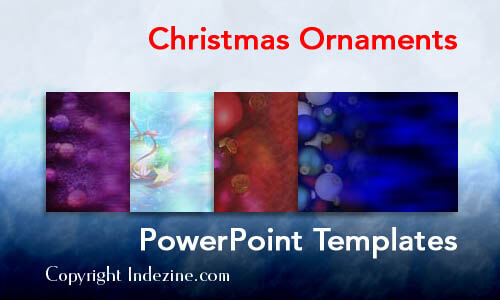Christmas Ornaments PowerPoint Templates