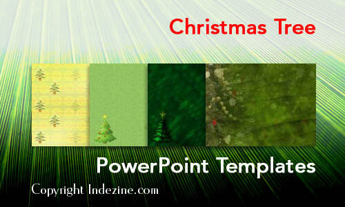 Christmas Tree Christian PowerPoint Templates