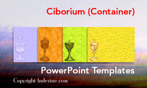 Ciborium (Container) PowerPoint Templates