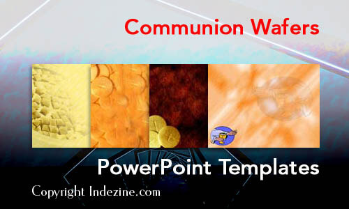 Communion Wafers Christian PowerPoint Templates