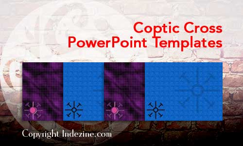 Coptic Cross Christian PowerPoint Templates