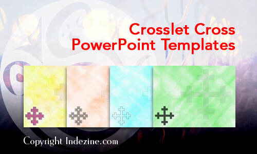 Crosslet Cross PowerPoint Templates