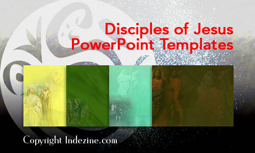 Disciples of Jesus Christian PowerPoint Templates
