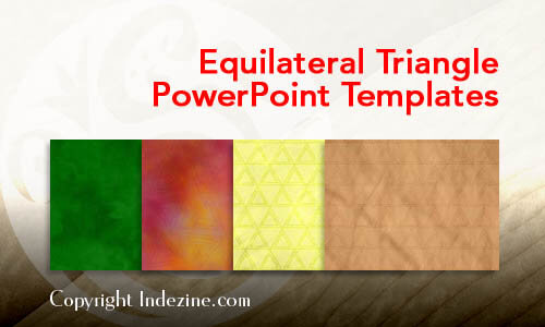 Equilateral Triangle PowerPoint Templates
