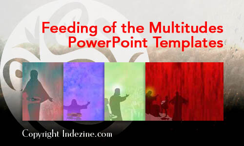 Feeding of the Multitudes PowerPoint Templates