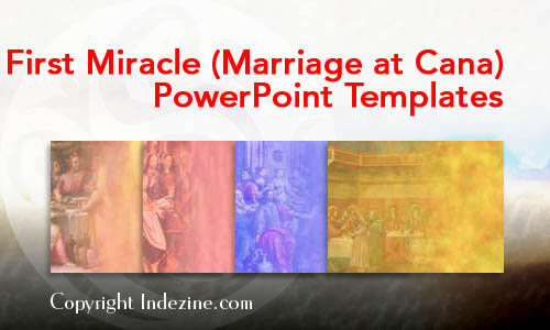 First Miracle (Marriage at Cana) PowerPoint Templates