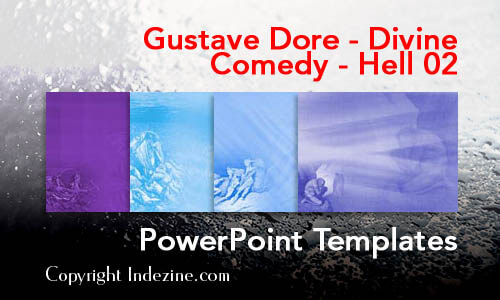 Gustave Dore - Divine Comedy - Hell 02 PowerPoint Templates
