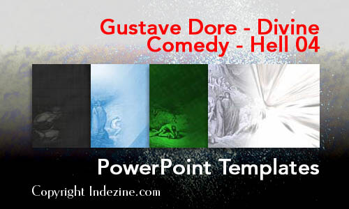 Gustave Dore - Divine Comedy - Hell 04 Christian PowerPoint Templates
