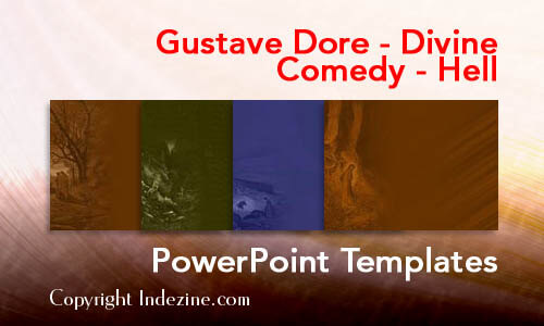 Gustave Dore - Divine Comedy - Hell PowerPoint Templates