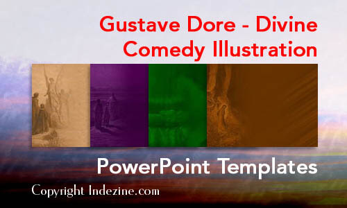 Gustave Dore - Divine Comedy Illustration  Christian PowerPoint Templates