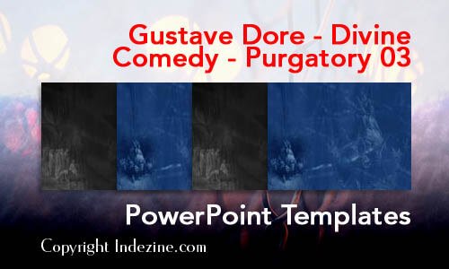 Gustave Dore - Divine Comedy - Purgatory 03 Christian PowerPoint Templates