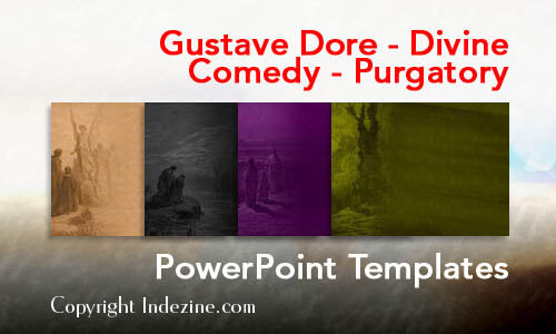 Gustave Dore - Divine Comedy - Purgatory Christian PowerPoint Templates