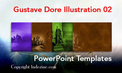 Gustave Dore Illustration 02 PowerPoint Templates