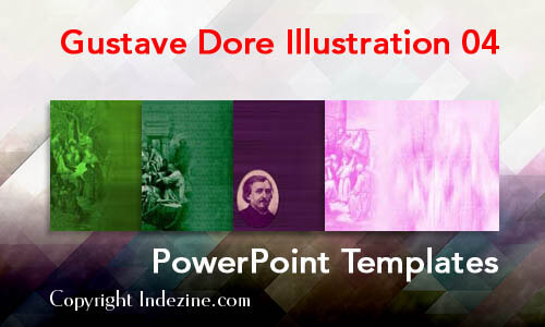 Gustave Dore Illustration 04 PowerPoint Templates