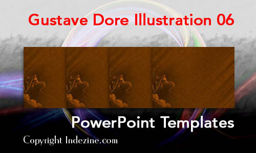 Gustave Dore Illustration 06 PowerPoint Templates