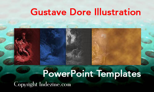 Gustave Dore Illustration PowerPoint Templates