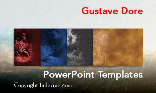 Gustave Dore Christian PowerPoint Templates