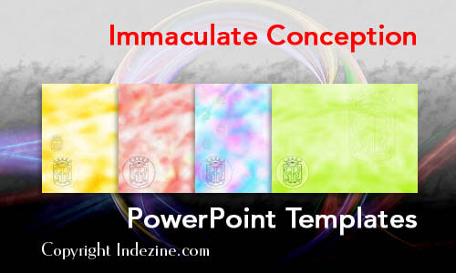 Immaculate Conception PowerPoint Templates