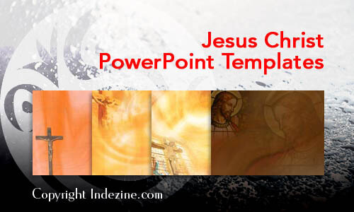 Jesus Christ Christian PowerPoint Templates