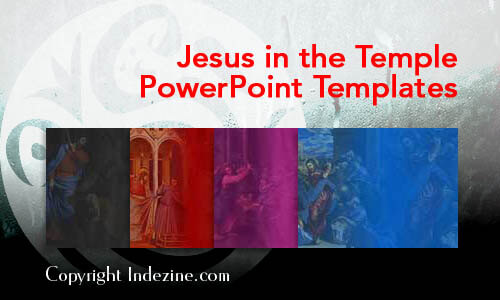 Jesus in the Temple PowerPoint Templates