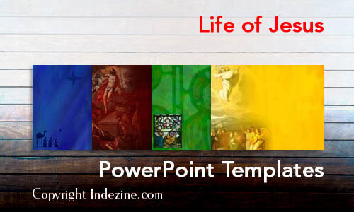 Life of Jesus Christian PowerPoint Templates