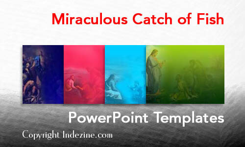 Miraculous Catch of Fish PowerPoint Templates