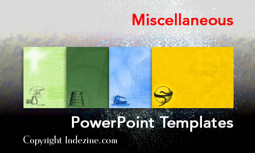 Miscellaneous Christian PowerPoint Templates