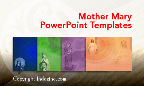 Mother Mary PowerPoint Templates