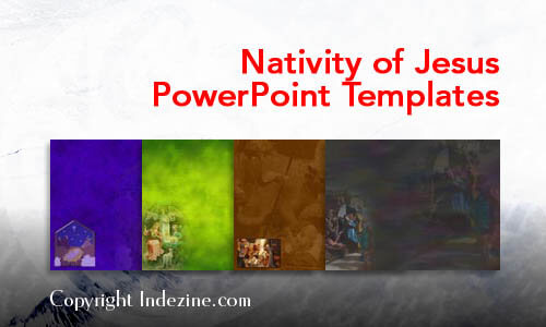 Nativity of Jesus Christian PowerPoint Templates