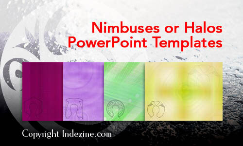 Nimbuses or Halos Christian PowerPoint Templates