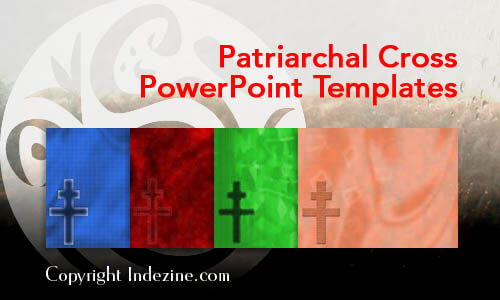 Patriarchal Cross PowerPoint Templates