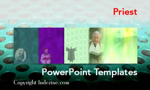 Priest Christian PowerPoint Templates