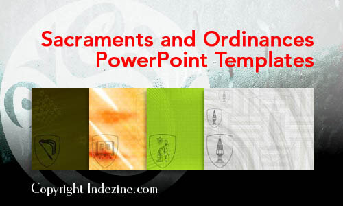 Sacraments and Ordinances Christian PowerPoint Templates