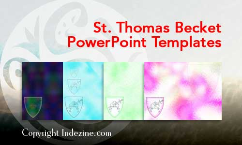 Saint Thomas Becket PowerPoint Templates