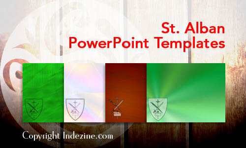 St. Alban Christian PowerPoint Templates