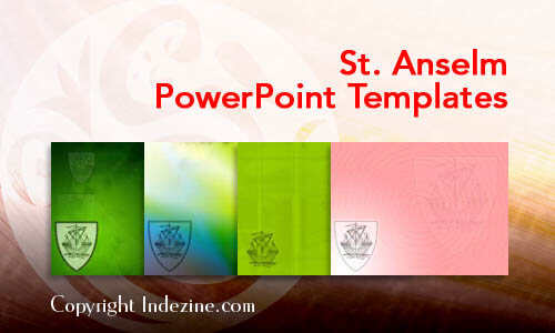 St. Anselm Christian PowerPoint Templates