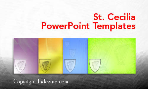St. Cecilia PowerPoint Templates