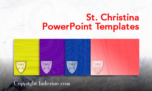 St. Christina PowerPoint Templates