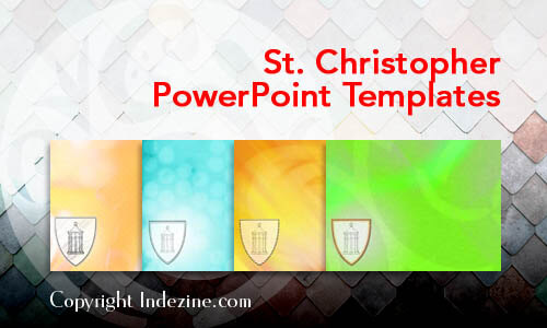 St. Christopher Christian PowerPoint Templates