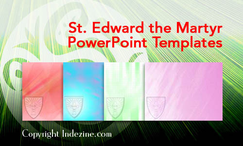 St. Edward the Martyr PowerPoint Templates