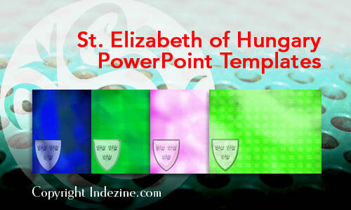 St. Elizabeth of Hungary PowerPoint Templates