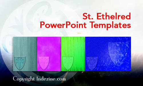 St. Ethelred PowerPoint Templates